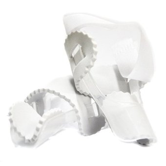 2pcs*1 Pair PROFOOT Goodnight Bunion Splint - Podiatrist Recommended (White Colour)