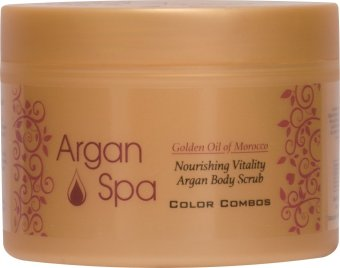 Harga Color Combos Argan Body Scrub 200ml