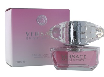 Harga Versace Bright Crystal EDT Spray 50ml Ladies