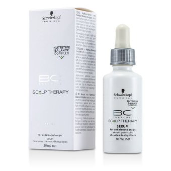 Harga Schwarzkopf BC Scalp Therapy Serum (For Unbalanced Scalps) 30ml/1oz (EXPORT)