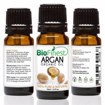 Harga Biofinest Argan Organic Oil (100% Pure Organic Carrier Oil) 10ml