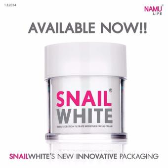 Harga Snail White Snail Secretion Filtrate Moisture Facial Cream by Namu Life