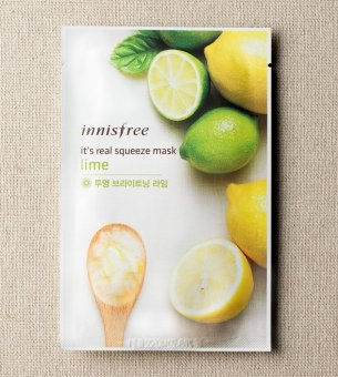 Harga Innisfree Real Squeeze Mask (Lime)