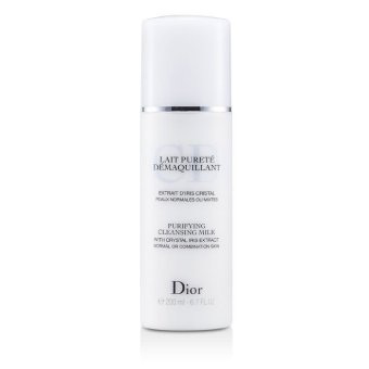 Harga Christian Dior Purifying Cleansing Milk (Normal / Combination Skin) 200ml/6.7oz