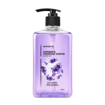 Harga Watsons Lavender & Chamomile Scented Hand Soap 500ml