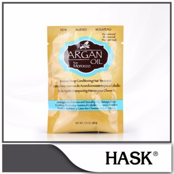 Harga HASK Argan Oil from Morocco Intense Deep Conditioning Hair Treatment Pack 50g