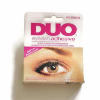 Harga Duo False Eyelash /Eyelashes Makeup Adhesive Eye Lash Glue (Black)