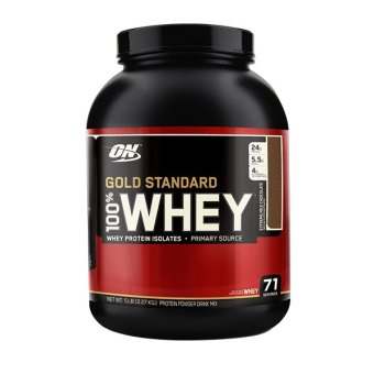 Harga Optimum Nutrition Gold Standard 100% Whey 5 lbs - Extreme Milk Chocolate