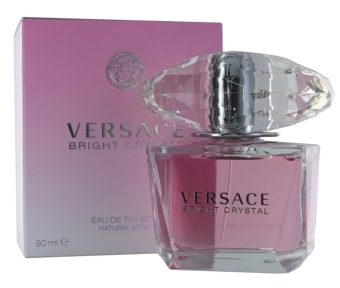 Harga Versace Bright Crystal EDT Spray 90ml Ladies