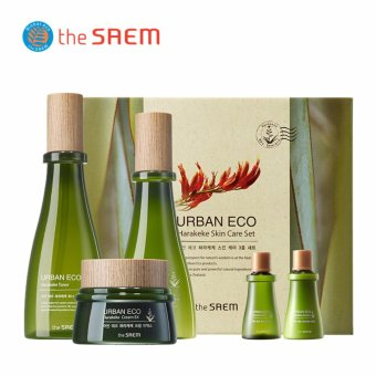 Harga the SAEM Urban Eco Harakeke Skin Care Set - intl