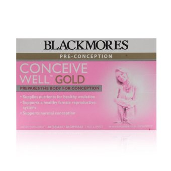 Harga Blackmores Conceive Well Gold 56's