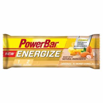 Harga PowerBar New Energize Bar Original Almond Vanilla 12 Pack With Free Gift