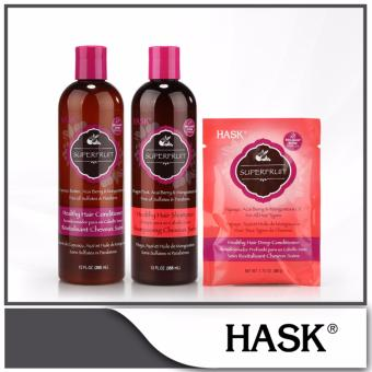 Harga Hask SuperFruit Healthy Hair Care Set