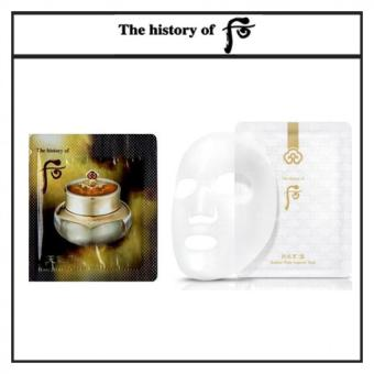 Harga The History of Whoo Cheongidan HwaHyun Eye Cream 1ml x 30pcs(Free sample) + The History of Whoo Gongjinhyang Seol Radiant White Ampoule Mask 25g