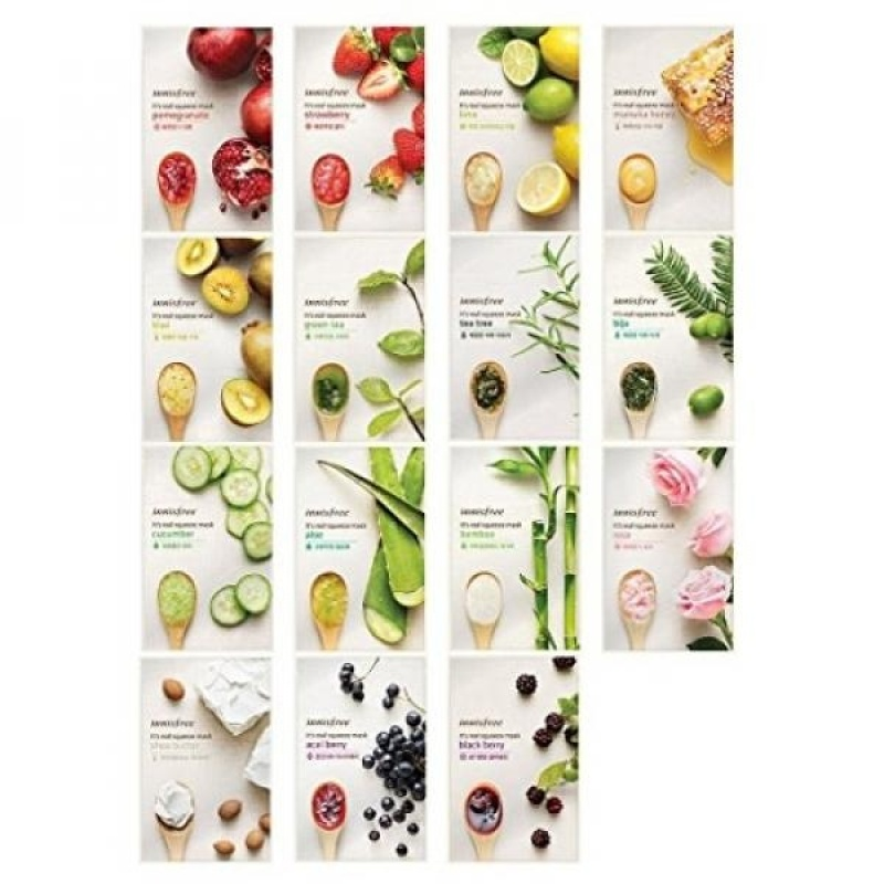 Buy Innisfree Its Real Squeeze Mask Sheet x 15 sheets - intl Singapore