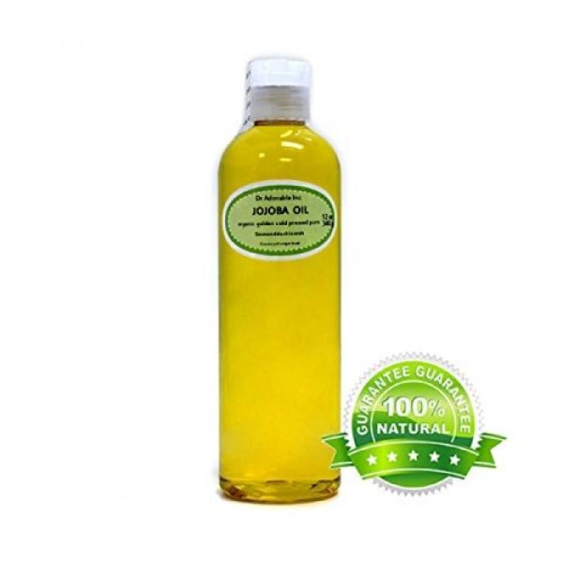 Buy Jojoba Oil, Golden Organic 100% Pure By Dr.Adorable 12 oz Singapore