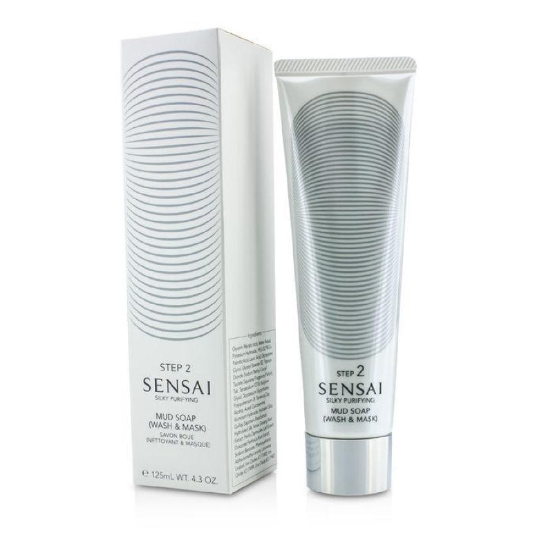 Buy Kanebo Sensai Silky Purifying Mud Soap - Wash Mask (New Packaging) 125ml/4.3oz Singapore