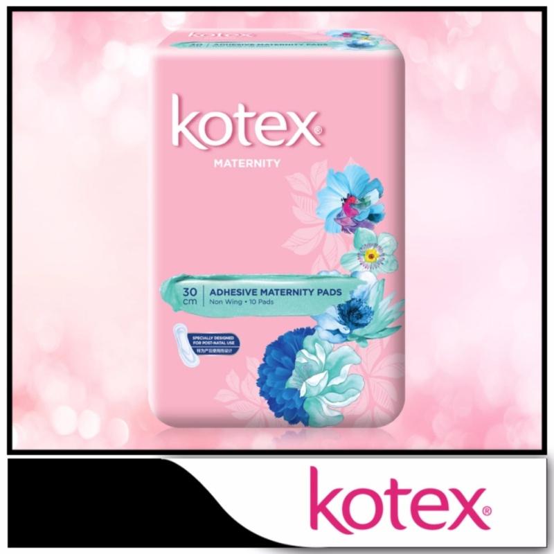 Buy Kotex Pads Adhesive Maternity 30cm 10pcs Singapore