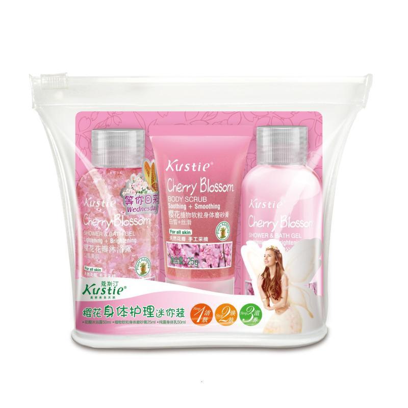 Buy Kustie Cherry Blossom Body Care Mini Set Singapore