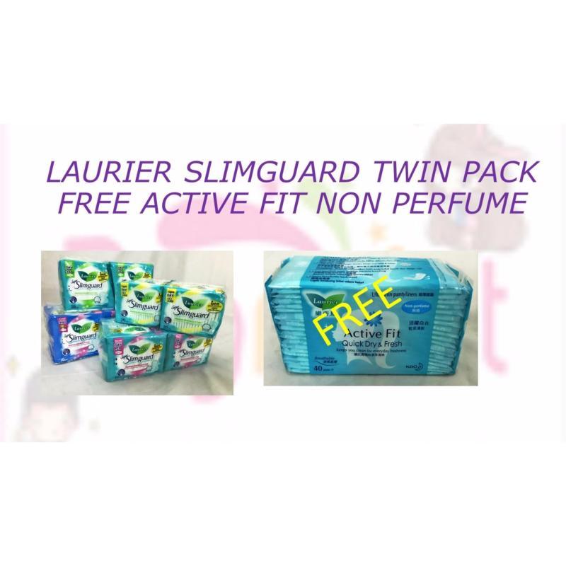 Buy Laurier Super Slim Guard Day 25cm 2 x 16's Singapore