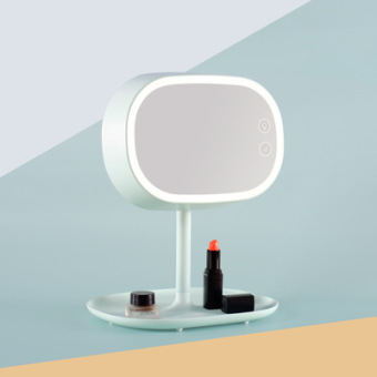 Led Mirror Desktop With Light Portable Folding Princess Vanity Mirror Table  Lamp Desk Table Minimalist Modern