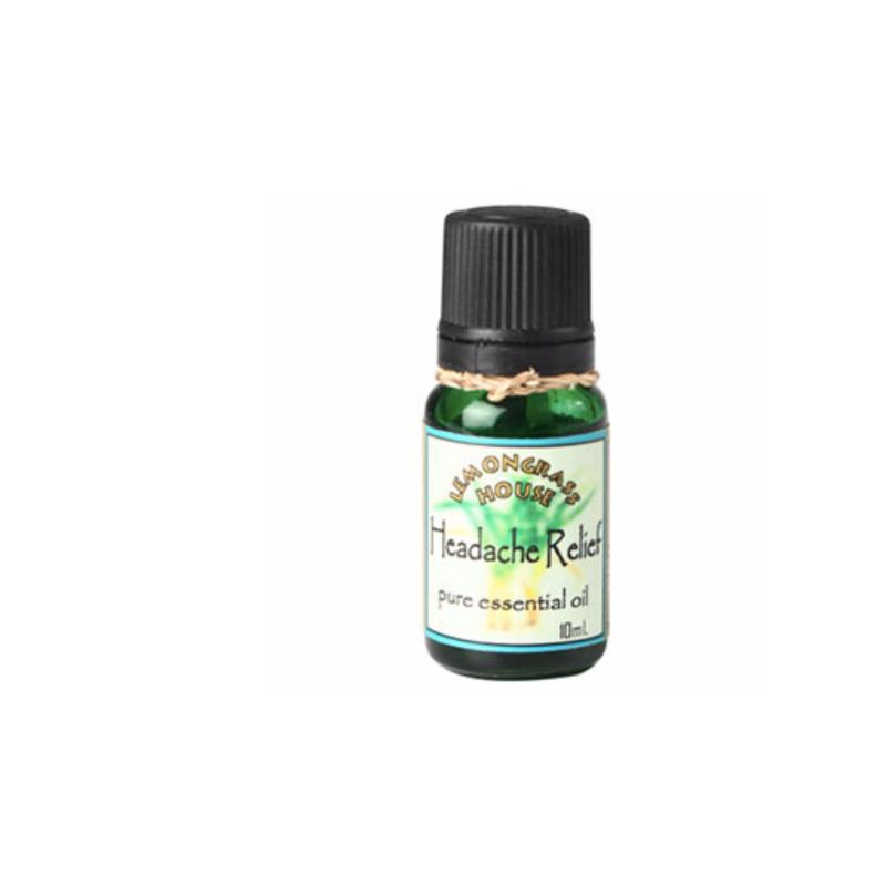Buy Lemongrass House Headache Relief Blended Essential Oil Singapore