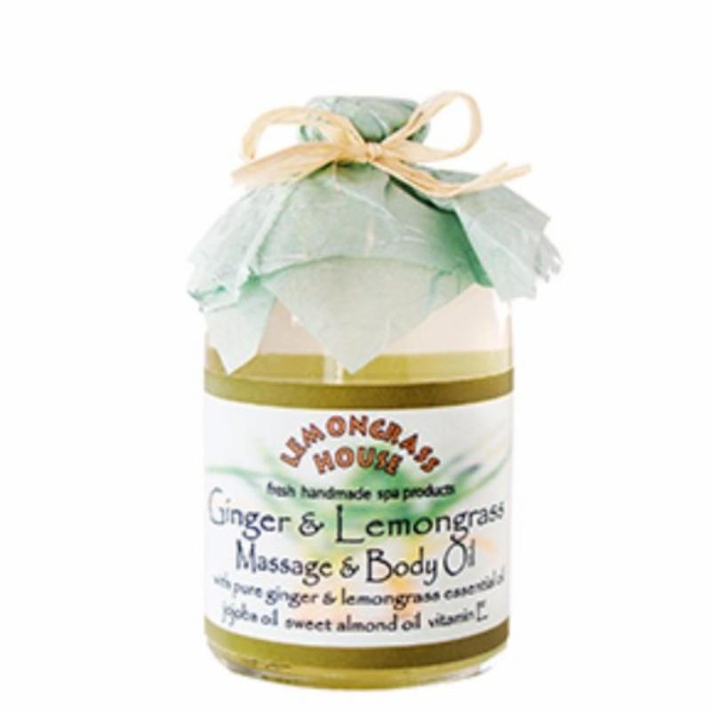 Buy Lemongrass House Lemongrass & Ginger Massage & Body Oil 250ml Singapore