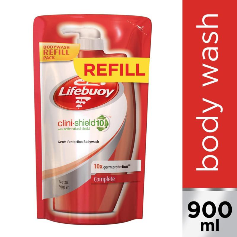 Buy Lifebuoy Clini-Shield 10 Fresh Anti-bacterial Body Wash Refill 900ml Singapore