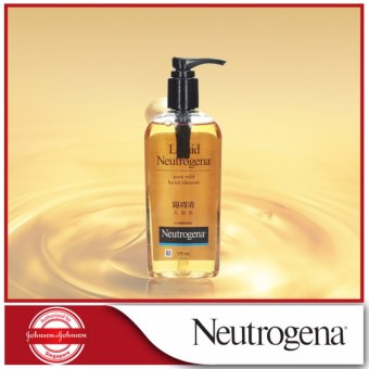 Harga Liquid Neutrogena Pure Mild Facial Cleanser 175ml