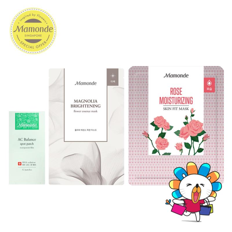 Buy Mamonde $11 Skincare Set - Exclusive Singapore