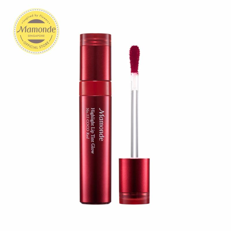 Buy Mamonde Highlight Lip Tint Glow [No.15 Coco Red] 4g Singapore