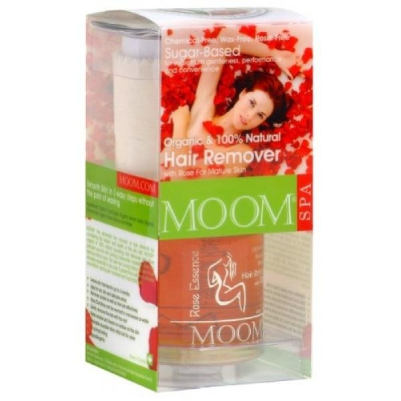 Buy Moom Organic Hair Removal Kit With Rose, 6-Ounce Package - intl Singapore