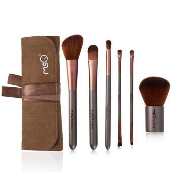 MSQ 6pcs Makeup brushes Set With Bag Professional Foundation Eyeshadow Blending Brush Maquiagem Cosmetics Make Up