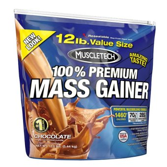 MuscleTech Mass Gainer (12lbs) - Chocolate