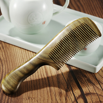 natural wood comb