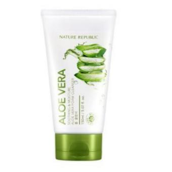 Harga Nature Republic Aloe Vera Foam Cleanser 150ml