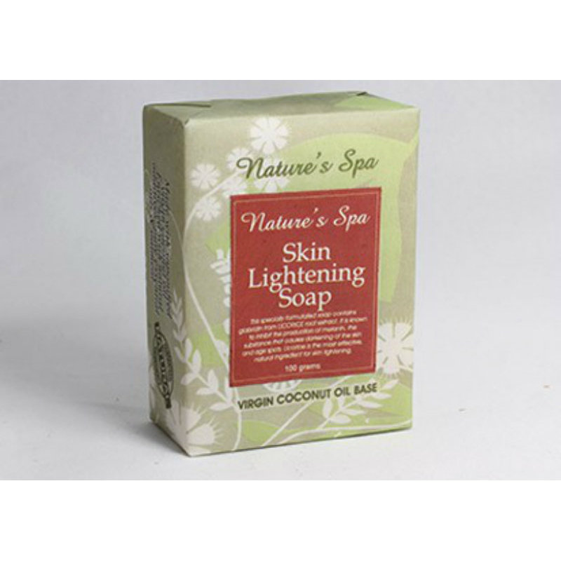 Buy Nature's Spa Skin Lightening Natural Bar Soap 100g Singapore