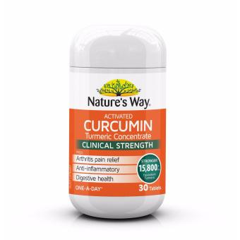 Nature's Way Curcumin Turmeric Concentrate One - A - Day 30 Tablets