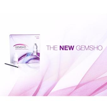New version GEMSHO purple box Eyelash Growth Treatments Free 10Applicators