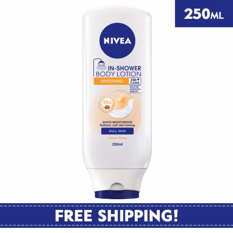 Buy Nivea Body Care Unisex Lotion In Shower Whitening 250ml Singapore