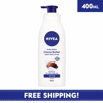 Nivea Body Unisex Lotion Cocoa Butter Body Lotion 400ml - OnlineExclusive
