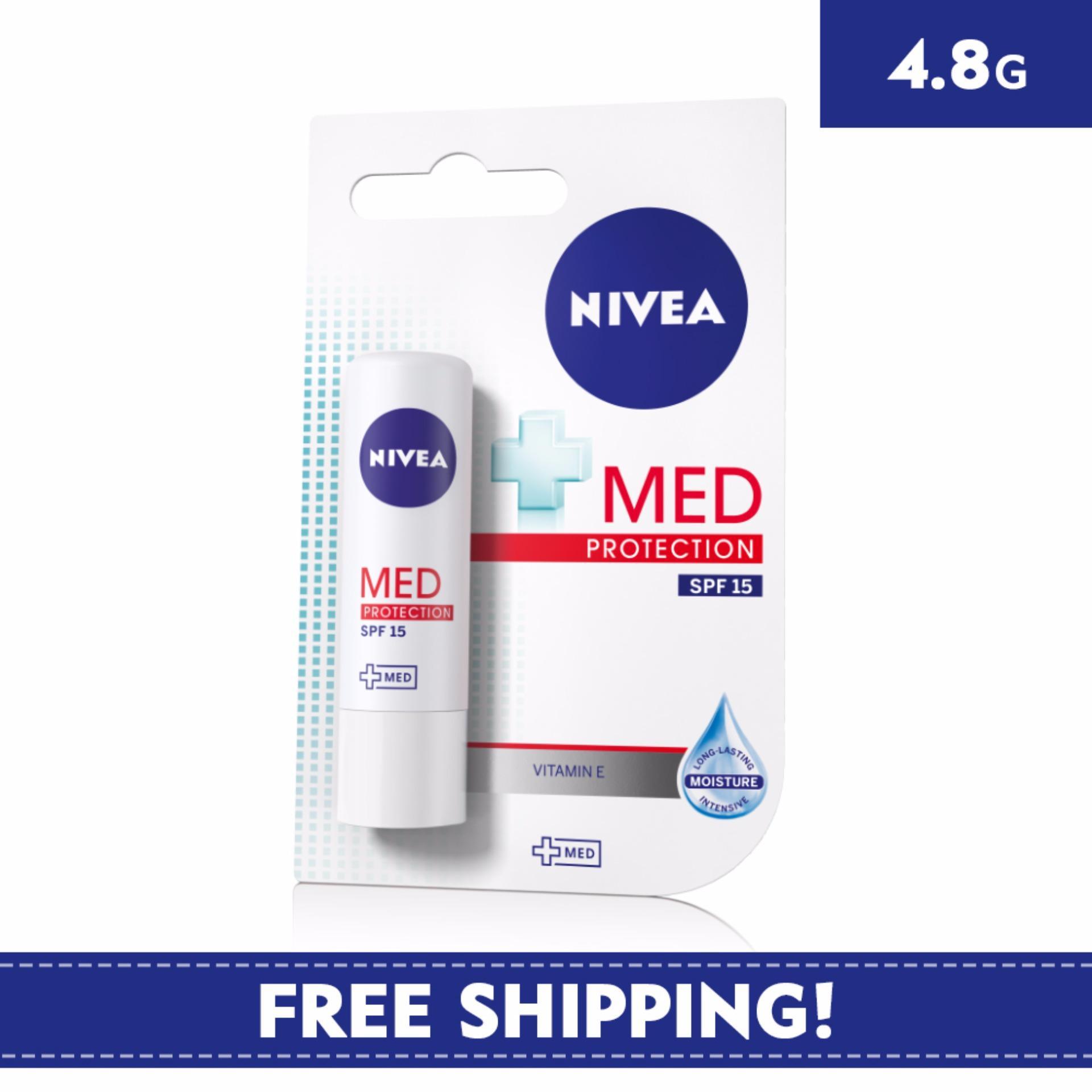 Buy Nivea Lip Care Unisex Spf 15 Med Protection 48g Singapore Balm