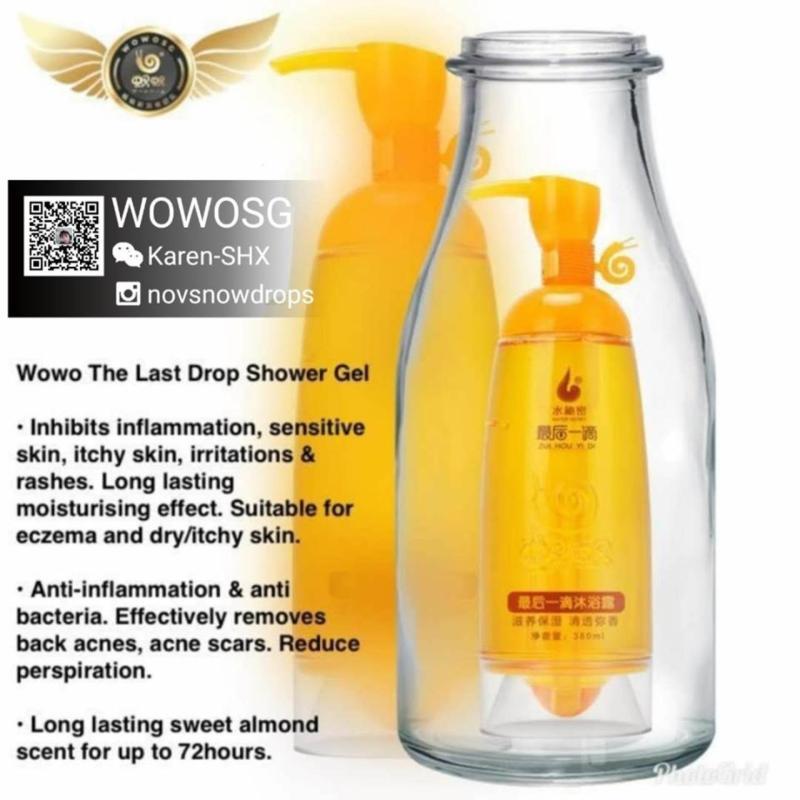 Buy [novsnowdrops] Wowo Last Drop Shower Gel 380ml Singapore