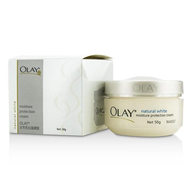 Buy Olay Natural White Moisture Protection Cream 50g/1.76oz - intl Singapore