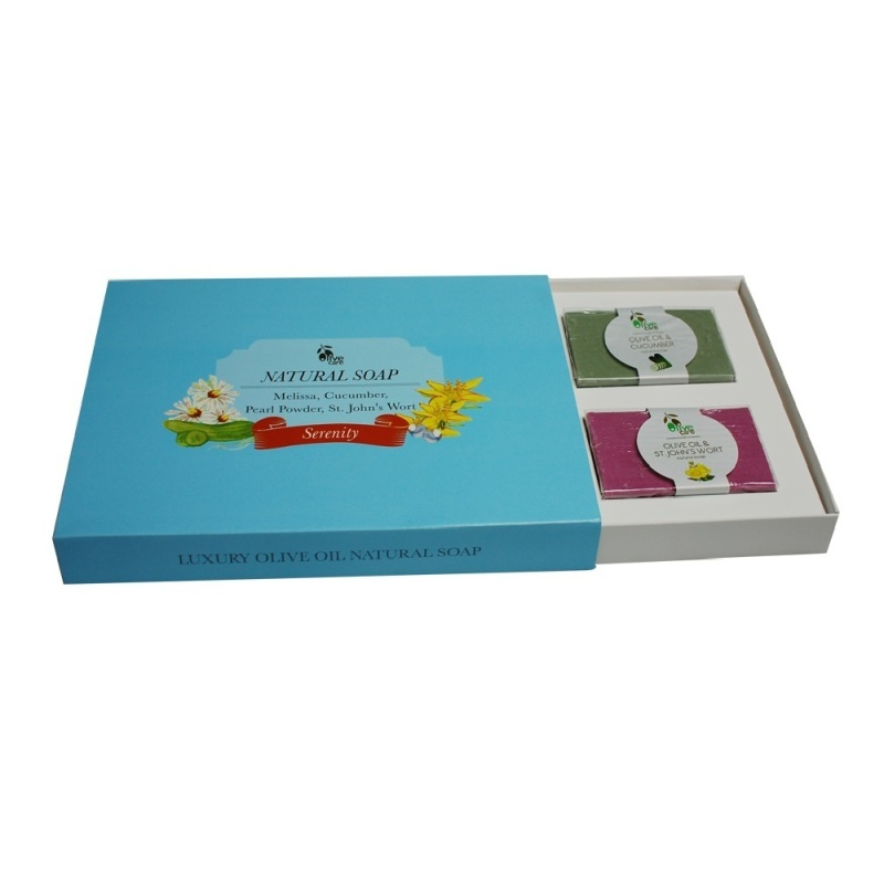 Buy Olivecare Olive Oil Natural Soap Serenity Gift Set Singapore