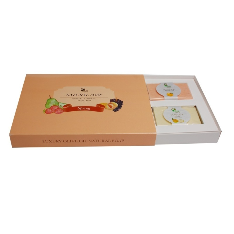 Buy Olivecare Olive Oil Natural Soap Spring Gift Set Singapore