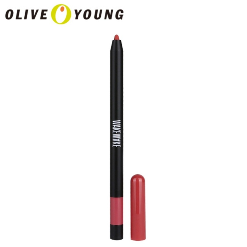 Buy OLIVEYOUNG WAKEMAKE Skinny Lip Crayon 012 Rose Brown - intl Singapore