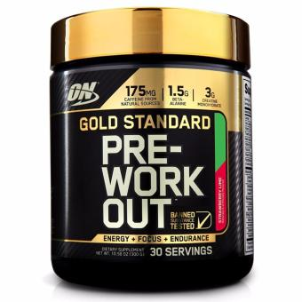 Optimum Nutrition Gold Standard Pre-Workout 300 grams Strawberry Lime