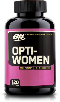 Optimum Nutrition Opti-Women 120 Caps With Free Gift