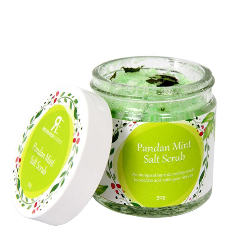 Buy Pandan Mint Salt Scrub Singapore